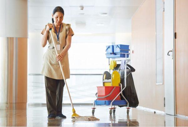 Уборка офисов и промышленных помещений